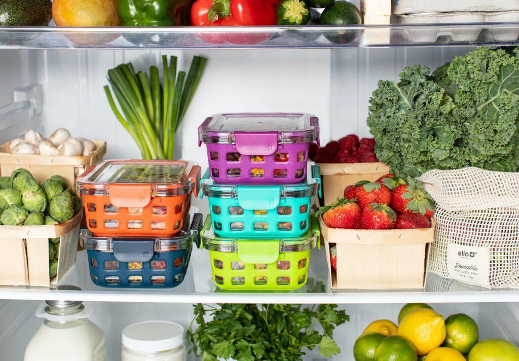 organiseer je koelkast en val